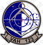 STICKER USN VAH 123 PROFESSIONALS