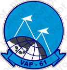 STICKER USN VAP 61 WORLD RECORDERS