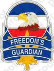 STICKER US ARMY FREEDOM'S GUARDIAN A