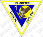 STICKER USN TACTICAL WING ONE