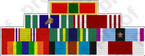 CUSTOM ARMY RIBBON BAR A