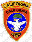 STICKER US UNIT Vietnam Recon Team California C