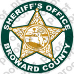 STICKER SHERIFF BROWARD SHERIFFs OFFICE