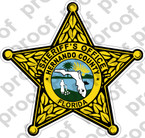 STICKER SHERIFF HERNANDO COUNTY