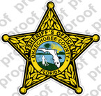 STICKER SHERIFF OKEECHOBEE COUNTY