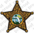 STICKER SHERIFF SUWANNEE COUNTY BRZ