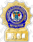 STICKER BLOOMFIELD POLICE DETECTIVE