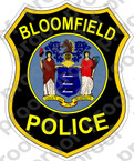STICKER BLOOMFIELD POLICE