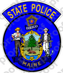 STICKER CIVIL MAINE STATE POLICE