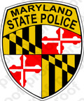 STICKER CIVIL MARYLAND STATE POLICE
