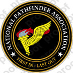 STICKER U S ARMY BADGE Pathfinder NPA