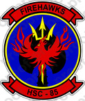 STICKER USN HSC 85 FIREHAWKS