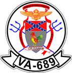 STICKER USN VA 689 REBELS