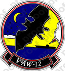 STICKER USN VAW 12 BATS