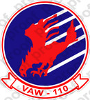 STICKER USN VAW 110 FIREBIRDS