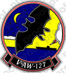 STICKER USN VAW 127 SEA BATS