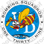 STICKER USN VB 139 VEE BEES