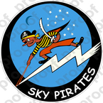 STICKER USN VBF 85 SKY PIRATES