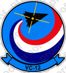 STICKER USN VC 12 Fighting Omars C