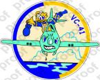 STICKER USN VC 41 COMPOSITE SQUADRON