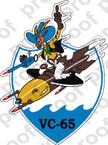STICKER USN VC 65 COMPOSITE SQUADRON