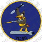STICKER USN VC 99 COMPOSITE SQUADRON