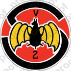 STICKER USN VCS  2  Composite Squadron Scout