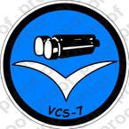 STICKER USN VCS 7 Composite Squadron Scout