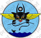 STICKER USN VF 8 HELLCATS