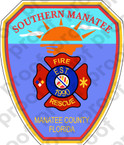 STICKER SOUTHERN MANATEE FIRE RESCUE