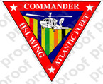 STICKER NAVY COMMANDER HSL WING