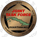 STICKER MILITARY JTF GUANTANAMO
