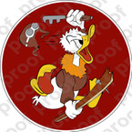 STICKER USAF 309TH FIGHTER SQUADRON A