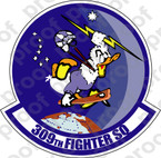 STICKER USAF 309TH FIGHTER SQUADRON C