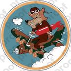 STICKER USAAF 729TH BOMBARDMENT SQUADRON