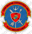 STICKER USMC 32ND MAU Marine Amphibious Unit A