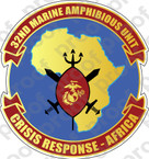 STICKER USMC 32ND MARINE AMPHIBIOUS UNIT B