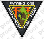 STICKER USN PATWING ONE CUBI POINT