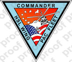 STICKER USN HSL WING PAC FLEET COMMANDER