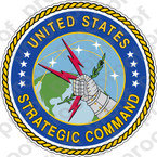 STICKER USAF AIR FORCE STRATEGIC AIR COMMAND B