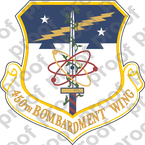 STICKER USAF 450th Bombardment Wing