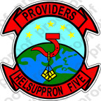 STICKER USN HC 5 Providers