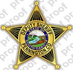 STICKER SHERIFF PENNINGTON SD