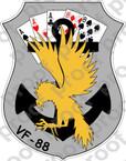 STICKER USN VF 88 GAME COCKS A