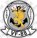 STICKER USN VF 88 GAME COCKS B