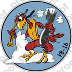 STICKER USN VB 16 WAR EAGLES