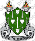 STICKER ARMY ARMOR SCHOOL CREST