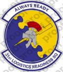 STICKER USAF 31ST LOGISTICS READINESS SQ