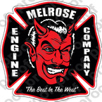 STICKER CIVIL MELROSE ENGINE COMPANY