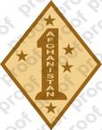 STICKER USMC UNIT   1ST MARINE DIVISION AFGHANISTAN DES   ooo   LISC#20187